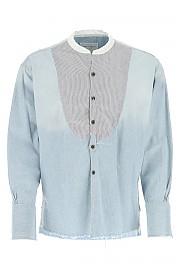 [관부가세포함][그렉 로렌] 남성 셔츠 G(SS20M110 BLUE)