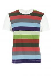 [관부가세포함][꼼데가르송 플레이] SS20 남성 반팔 티셔츠 G(S28103 WHITEMIX1)