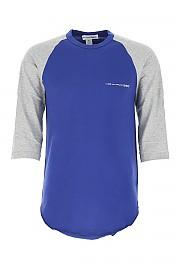 [관부가세포함][꼼데가르송 플레이] SS20 남성 래글런 티셔츠 G(S28120 GREYBLUE)