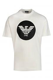 [관부가세포함][엠포리오아르마니] FW20 남성 반팔 티셔츠 G(6H1T731JDXZ 0101)