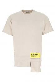 [관부가세포함][AMBUSH] FW20 남성 반팔 티셔츠 G(BMAA004F20JER001 6100)