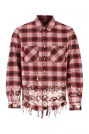 [관부가세포함][AMIRI] FW20 남성 체크 셔츠 G(W0M04610PD RED)