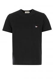 [관부가세포함][메종키츠네] 남성 반팔 티셔츠 G(FM00120KJ0010 BK)