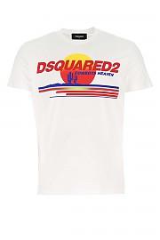 [관부가세포함][디스퀘어드2] FW20 남성 반팔 티셔츠 G(S71GD0946S22427 100)