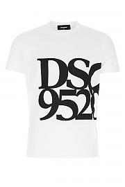 [관부가세포함][디스퀘어드2] FW20 남성 반팔 티셔츠 G(S71GD0998S23009 100)