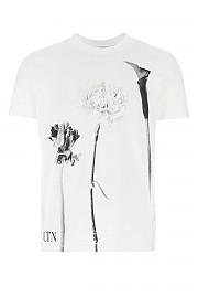 [관부가세포함][발렌티노] FW20 남성 티셔츠 G(UV0MG08U6Y5 21K)