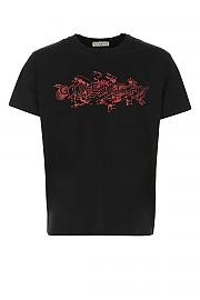 [관부가세포함][지방시] SS21 남성 티셔츠 G(BM710W3002 001)