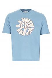 [관부가세포함][랑방] SS21 남성 반팔 티셔츠 G(RMJE0012JR53P21 221)