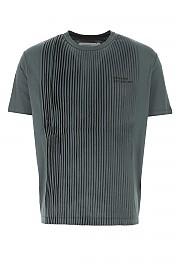 [관부가세포함][텔파] FW20 남성 반팔 티셔츠 G(FW20J01 OFFBLACK)