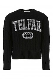 [관부가세포함][텔파] FW20 남성 니트 스웨터 G(FW20K03 BLACK)