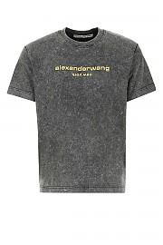 [관부가세포함][알렉산더 왕] SS21 남성 반팔 티셔츠 G(UCC1211030 007)