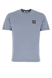 [관부가세포함][스톤아일랜드] SS21 남성 반팔 티셔츠 G(741524113 V0046)
