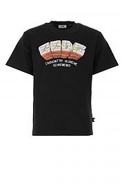 [관부가세포함][GCDS] SS21 남성 반팔 티셔츠 G(SS21M020068 02)