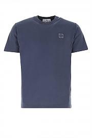 [관부가세포함][스톤아일랜드] SS21 남성 반팔 티셔츠 G(741523757 V0124)