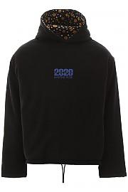 [관부가세포함][Martine Rose] (MRSS20 624A BLACK) SS20 남성  reversible hooded 스웨트셔츠