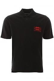 [관부가세포함][Martine Rose] (CMRSS20 903 BLACK) SS20 남성 반팔 피케 폴로 셔츠