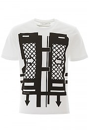 [관부가세포함][크레이그 그린] (CGSS20MJETSS02 BLACK) SS20 남성 craig  flatpack print 티셔츠