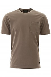 [관부가세포함][에르메네질도 제냐] (VU373 ZZ679 N07B) SS20 남성 z zegna basic 티셔츠