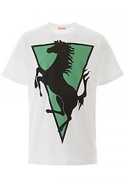[관부가세포함][라프시몬스] (201 120 19001 00010) SS20 남성  horse print 티셔츠