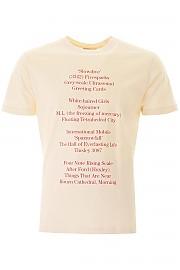 [관부가세포함][라프시몬스] (201 111 19001 00013) SS20 남성  history of the world print 티셔츠