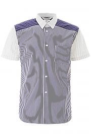 [관부가세포함][꼼데가르송] (S28080 STRMI) SS20 남성 반팔 셔츠