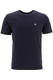 [관부가세포함][CP 컴퍼니] (09CMTS024A 005100W 888) FW20 남성  티셔츠 with micro logo