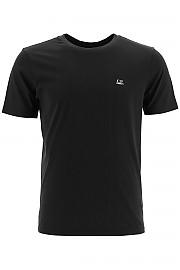 [관부가세포함][CP 컴퍼니] (09CMTS024A 005100W 999) FW20 남성  티셔츠 with micro logo