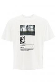 [관부가세포함][닐바렛] (PBJT823S P544S 2855) FW20 남성  get lost print 티셔츠