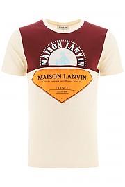 [관부가세포함][랑방] (RMJE0029JR31A20 02E) FW20 남성  maison  티셔츠