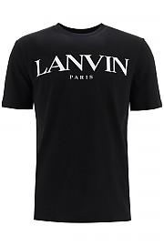 [관부가세포함][랑방] (RMJE0069JR31H20 10) FW20 남성  logo print 티셔츠