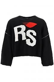 [관부가세포함][라프시몬스] (202 843 50020 0099) FW20 남성  rs intarsia 스웨터