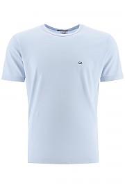 [관부가세포함][CP 컴퍼니] (08CMTS051A 000444G 817) SS20 남성  micro logo 티셔츠