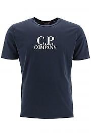 [관부가세포함][CP 컴퍼니] (09CMTS022A 000444O 888) FW20 남성  티셔츠 logo