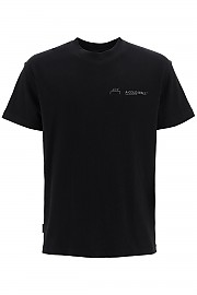[관부가세포함][어콜드월] (ACWMTS001 BLACK) FW20 남성  logo print 티셔츠