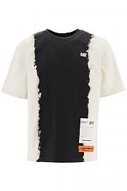[관부가세포함][헤론 프레스톤] (HMAA019F20JER0051201 1201) FW20 남성  티셔츠 with tie-dye print