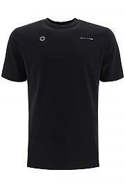 [관부가세포함][알릭스] (AAMTS0183FA01 BLACK) FW20 남성  티셔츠 double logo print