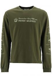 [관부가세포함][핍스] (PHFW20 N03 FGREE) FW20 남성  smokey fire safety 티셔츠