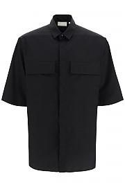 [관부가세포함][에르메네질도 제냐] (8SFG01 8NRBBC NERO) FW20 남성 반팔 셔츠