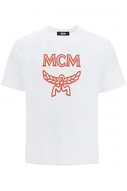 [관부가세포함][엠씨엠] (MHTASMM04 R6) FW20 남성  logo 티셔츠