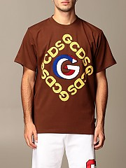 [관부가세포함][GCDS] (FW21M020056 14)  Winter 20 남성  cotton 티셔츠 with 3d logo