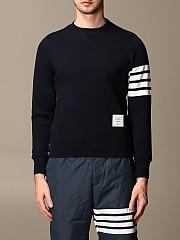 [관부가세포함][톰브라운] (MJT021H 00535 461)  Winter 20 남성 스웨트셔츠 men thom e navy