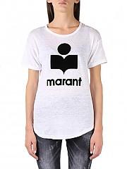 [관부가세포함][이자벨마랑] (TS029900M009E20WH) AI20 여성 반팔 티셔츠