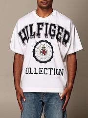 [관부가세포함][NIMABI] (RE0RE00668 YBR)  Winter 20 남성 티셔츠 men hilfiger collection