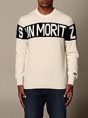 [관부가세포함][엠씨2세인트바스] (HERON SKI MORI STRIPE 1061)  Winter 20 남성 스웨터 men   cream