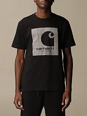[관부가세포함][칼하트] (I02846103 89.90)  Winter 20 남성  short-sleeved 티셔츠 with logo