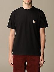 [관부가세포함][칼하트] (I02209103 89.00)  Winter 20 남성  cotton 티셔츠 with logo
