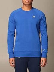 [관부가세포함][나이키] (CI9545 410)  Winter 20 남성  cotton 스웨트셔츠 with logo royal