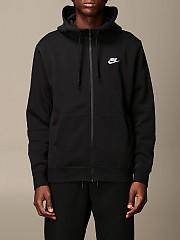 [관부가세포함][나이키] (BV2645 010)  Winter 20 남성  cotton 스웨트셔츠 with logo and hood
