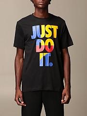 [관부가세포함][나이키] (CU7385 010)  Winter 20 남성  cotton 티셔츠 with just do it. writing