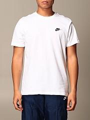 [관부가세포함][나이키] (CU8916 100)  Winter 20 남성  cotton 티셔츠 with logo